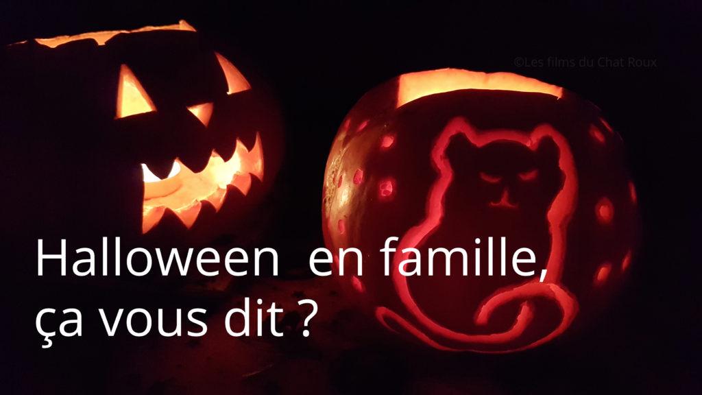 Citrouilles et films pour passer Halloween en famille.