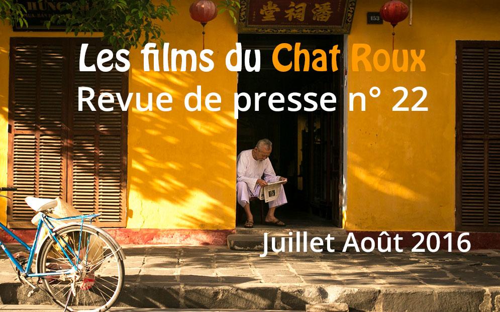 La revue de presse du Chat Roux n°22