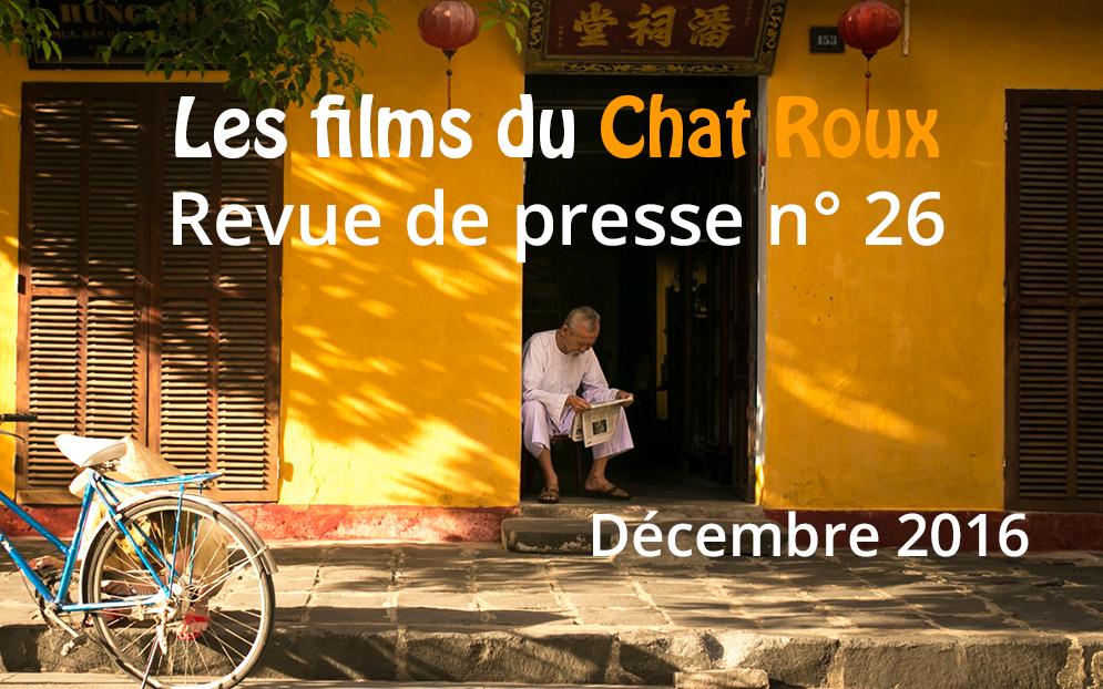 La revue de presse du Chat Roux n°26