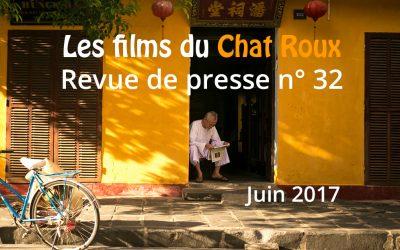 La revue de presse du Chat Roux n°32